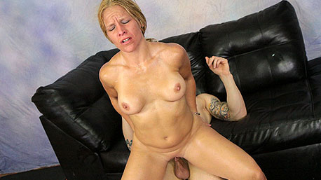 Skylar Rae Rides a Massive Cock Deep In Her Pussy